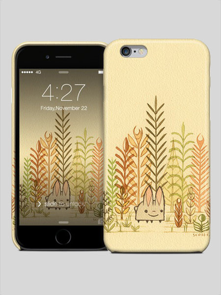 Iphone 6 case - Bunny Amongst Plants