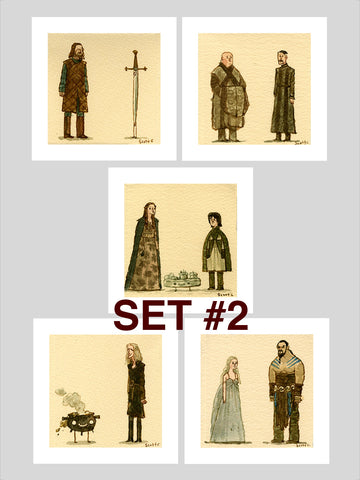Great Showdowns (GoT Edition) - Print Set #2