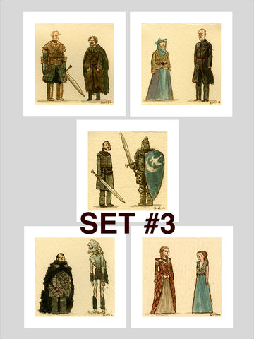 Great Showdowns (GoT Edition) - Print Set #3