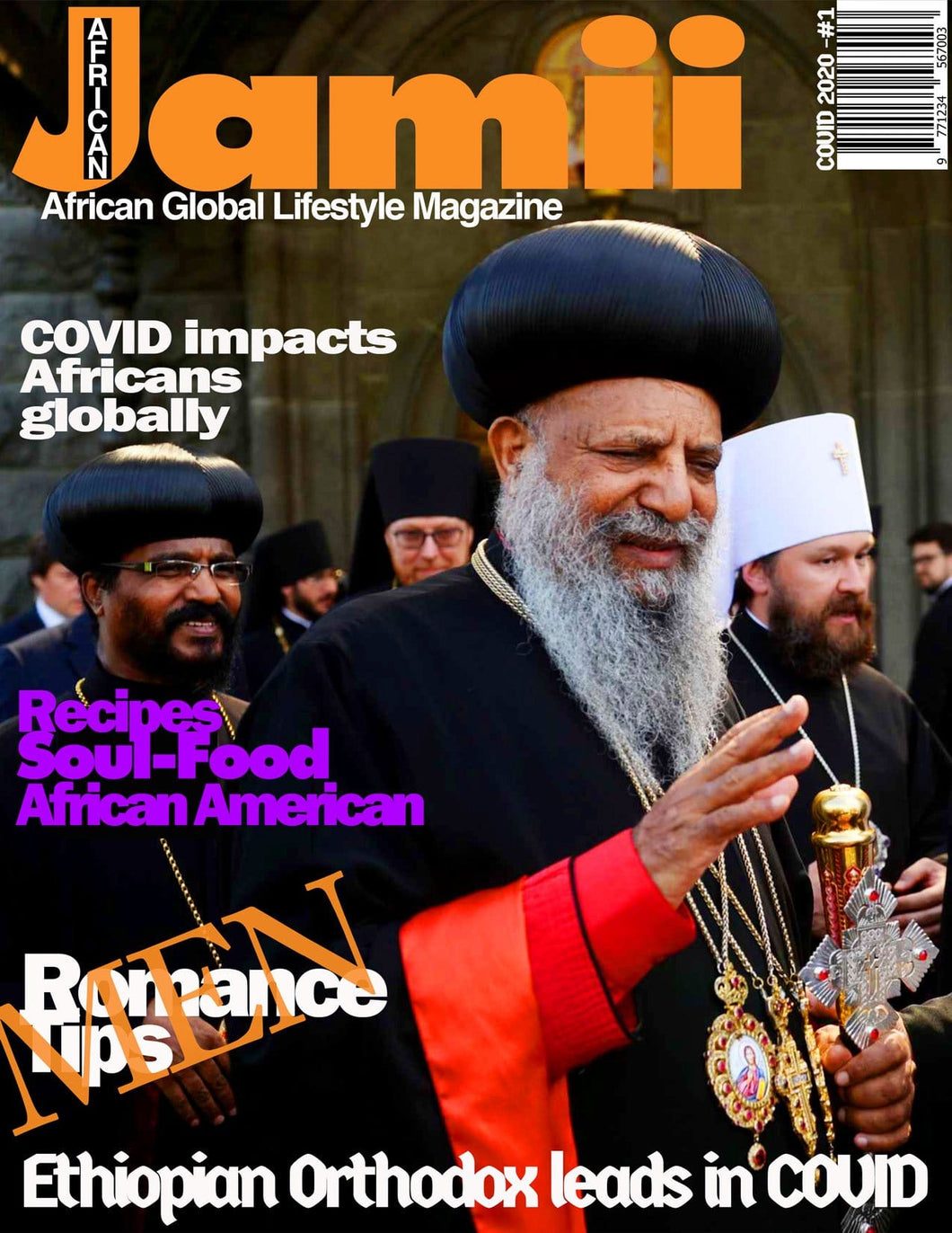Jamii Magazine - COVID issue - English - PRINT - upon demand - Marpê Shop