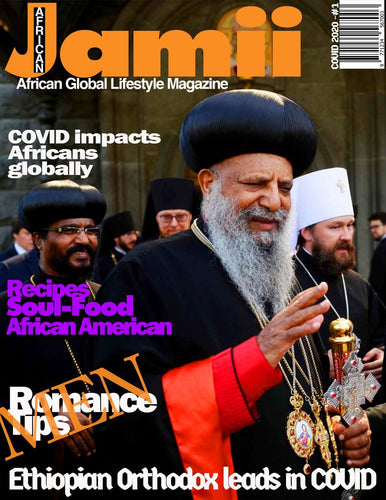 Jamii Magazine - COVID issue - English - Interactive for online Mobile and Web Use - Marpê Shop