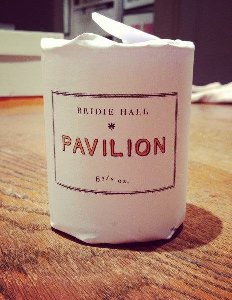 Pavilion Scented Candle