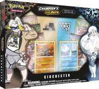 Pokemon TCG; Champion's Path Circhester Special Pin Collection