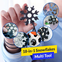 Load image into Gallery viewer, 18-in-1 Snowflake Multi Tool