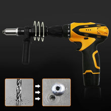 Load image into Gallery viewer, Universal Rivet Gun Drill Attachment