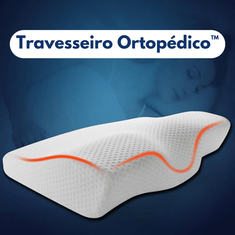 Travesseiro Ortopédico Cervical SleepCloud