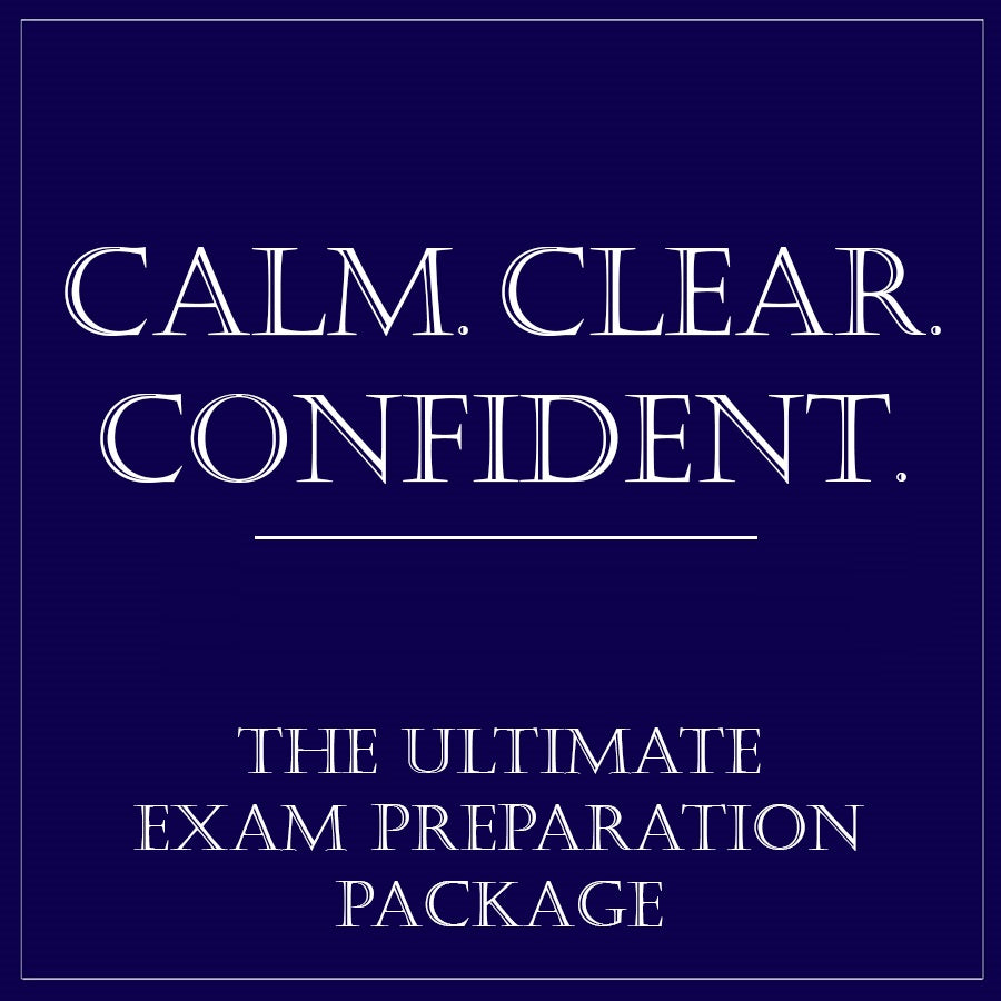 Calm Clear Confident provides the ultimate exam preparation skills for 2020-2021. Ideal for 11+/13+, right through to GCSE & A Levels.