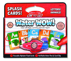Melissa & Doug Water WOW! Splash Cards - Letters!