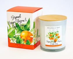Bramble Bay Candle Bergamot, Orange Blossom & Tonka Bean 300gm