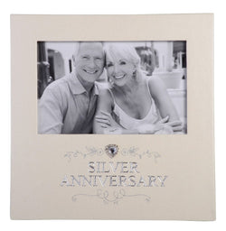 Gibson JEWEL SILVER ANNIVERSARY FRAME 6X4