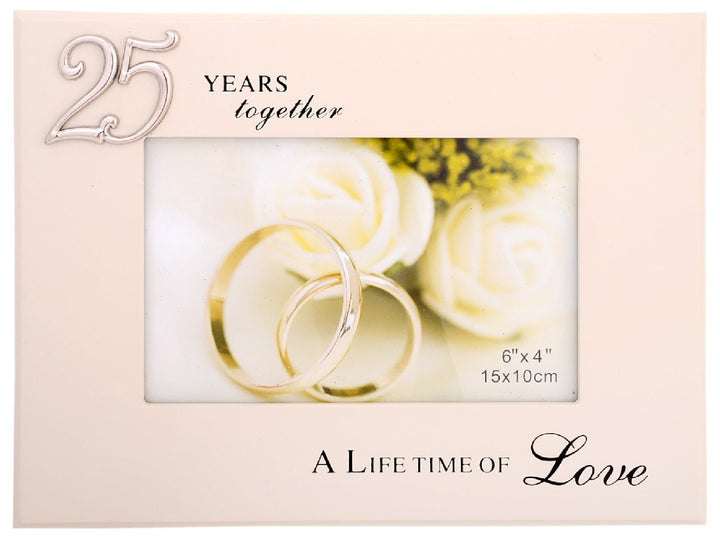 Gibson 25 YEARS TOGETHER FRAME 4X6