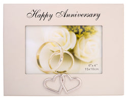 Gibson HAPPY ANNIVERSARY FRAME 6X4