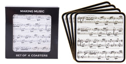 Gibson Making Music Coasters Set of 4