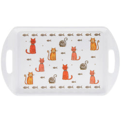 Gibson Faithful Friends Cat Tray Small