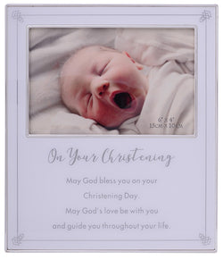 Gibson On Your Christening Frame 6x4