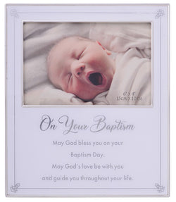 Gibson On Your Baptism Frame 6x4