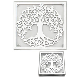 Gibson Mirror Tree of Life Coasters Set of 4