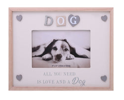 Gibson Sentiments Frame Dog 6x4