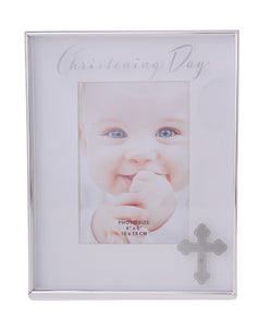 Gibson Christening Day Frame 4x6
