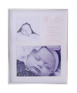 Gibson BABY GIRL Collage FRAME