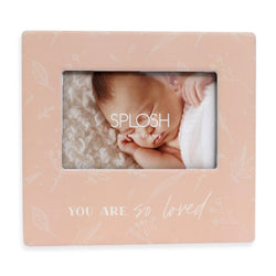 Splosh Baby Loved 4x6 Photo Frame
