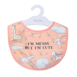 Splosh Baby Orange Cute Bib