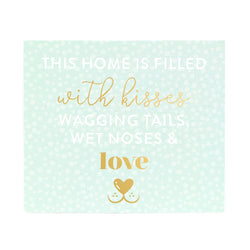 Splosh Playful Pets Love Verse Plaque