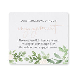 Splosh Wedding Engagement Verse Plaque