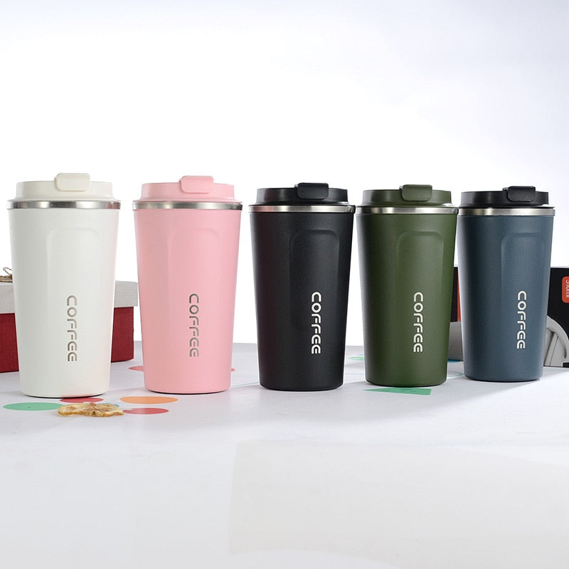 Colors Stainless Steel Travel Coffee Mug