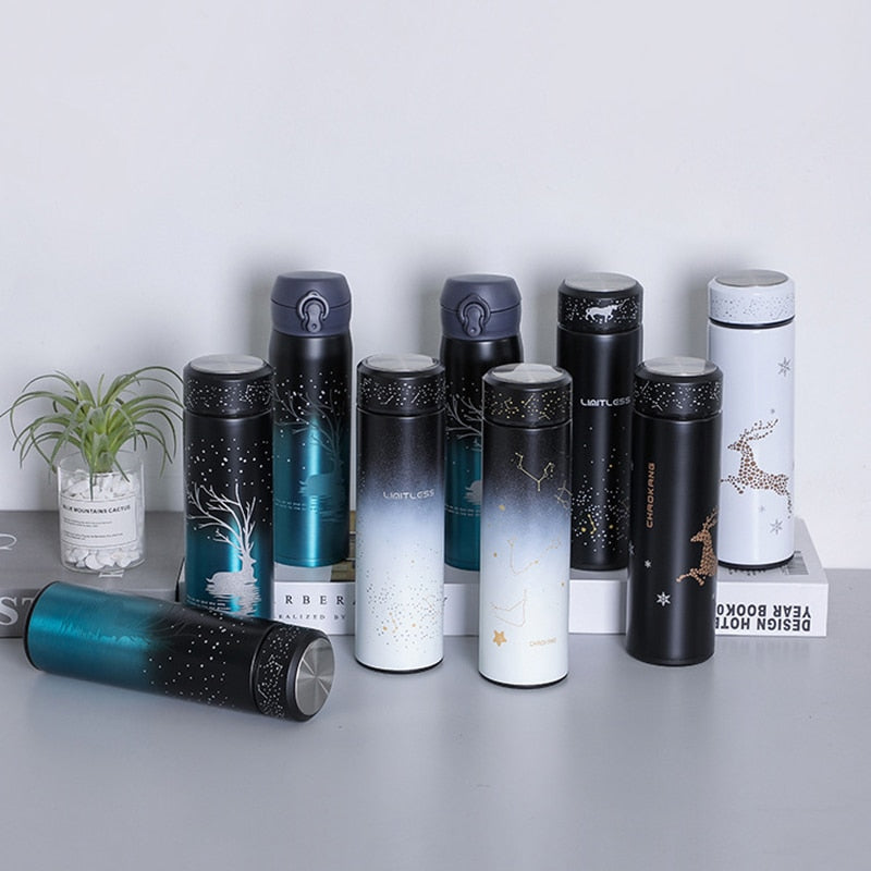 Starry Luminous Thermos Cup Stainless Steel