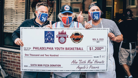 Sixth Man Shop launches to support local Philadelphia charities!