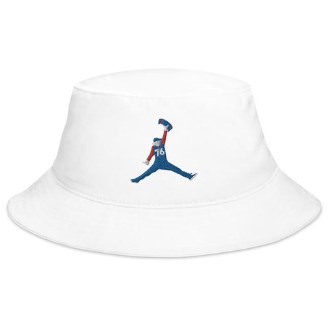 Sixth Man Jumpin' Towel Bucket Hat White
