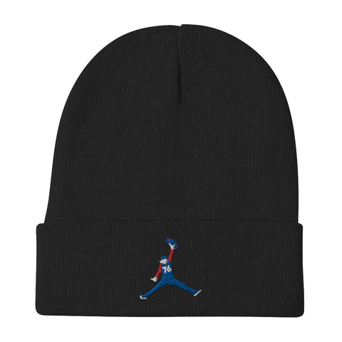 Sixth Man Jumpin' Towel Beanie Black