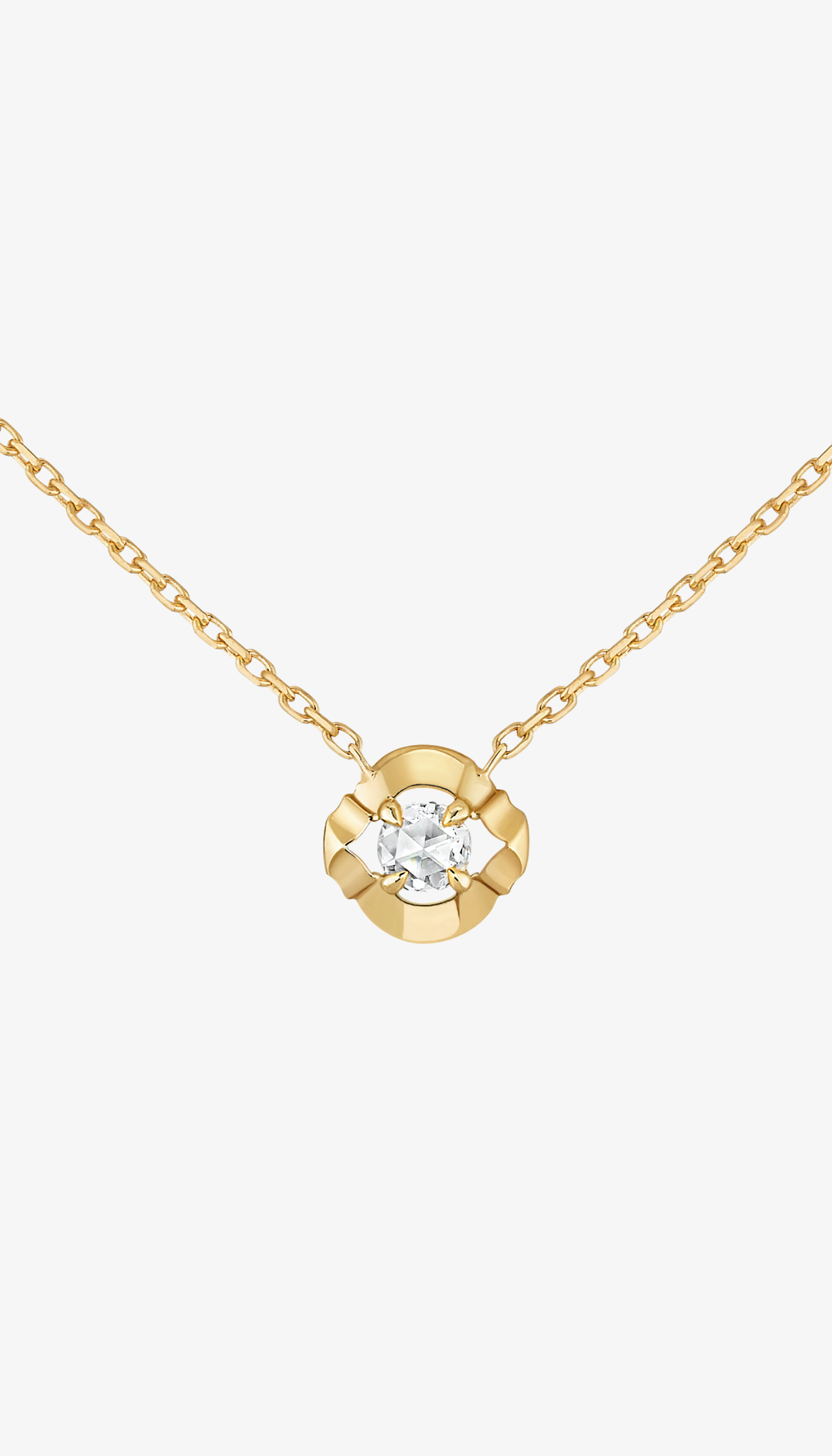 Collier Éclats – or jaune et diamant