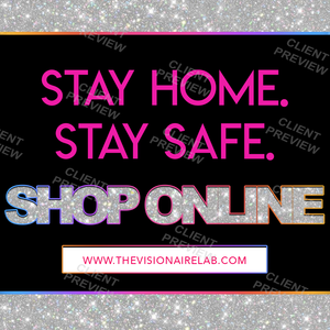 Pink Stay Home Flyer