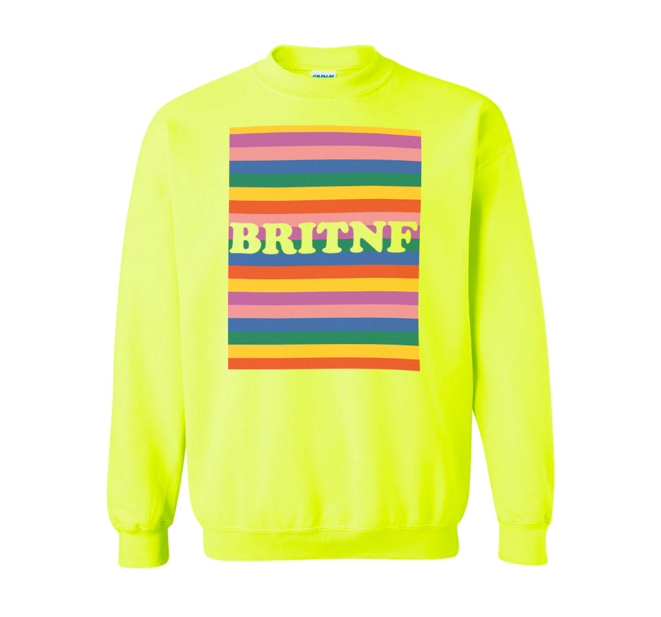 BRITNF Stripes Sweatshirt - Unisex