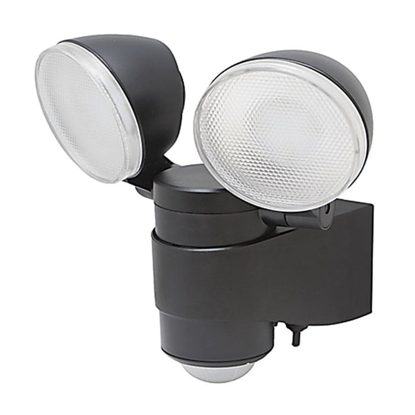 battery powered spotlight led security light. Black Bedroom Furniture Sets. Home Design Ideas