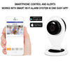 Smart Wi-Fi Indoor Camera with Smartphone Control and Alerts