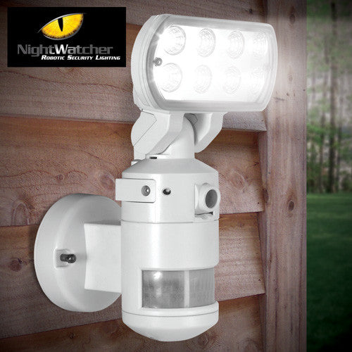 Nightwatcher security light with camera robotic motion tracking security light with camera aloadofball Choice Image