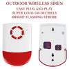 Outdoor Wireless Siren for Smart Wi-Fi Alarm System