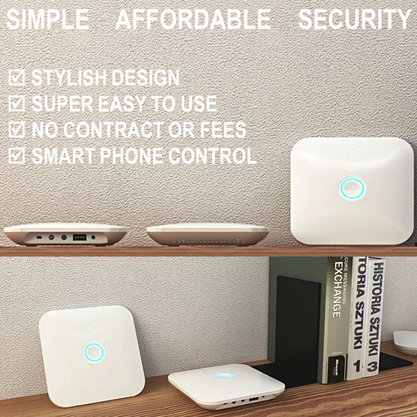 Home Alarm System Wireless Security Package No