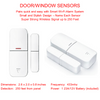 Smart Wi-Fi Alarm System Door Window Sensors - Big Easy Security
