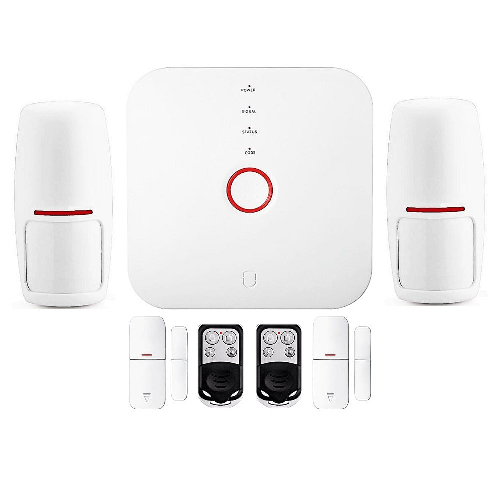 Smart WiFi Alarm System Starter Kit - Great Apartment Alarm System