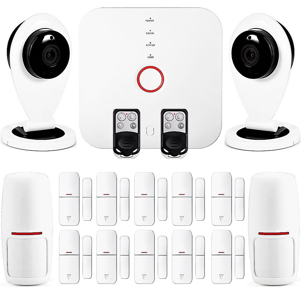 Smart Wi-Fi Alarm System with Cameras - DIY Home Security System