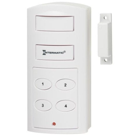 wireless door alarm with programmable keypad. Black Bedroom Furniture Sets. Home Design Ideas