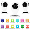 Wireless security camera with night vision, motion detection, recording and smartphone control