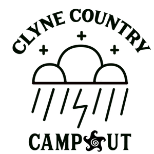Clyne Country Campout Car Decal