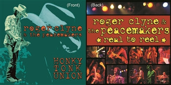 DOUBLE VINYL OF HONKY TONK UNION AND REAL TO REEL