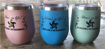 HERE'S TO LIFE! 12OZ WINE TUMBLERS