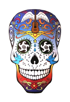 SUGAR SKULL STICKER/CAR DECAL